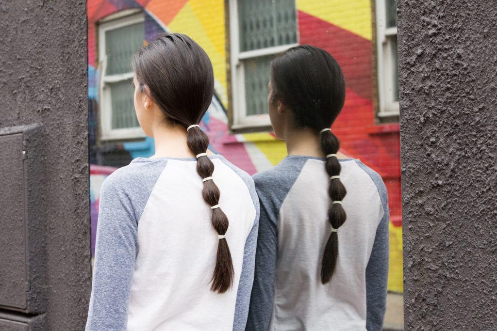 Bubble Ponytail untuk si rambut panjang yang aktif.