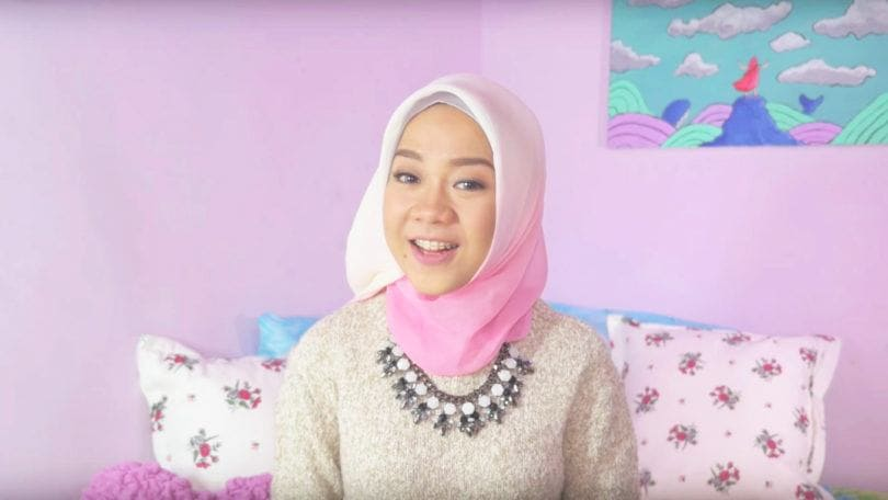 Gaya hijab back to school