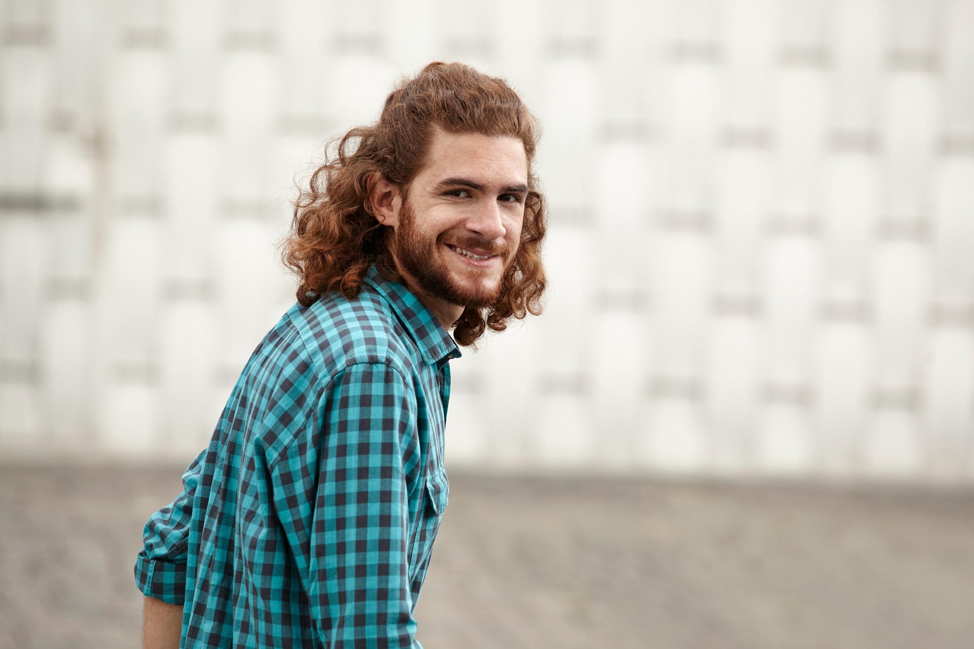 top knot male man bun tutorial 2