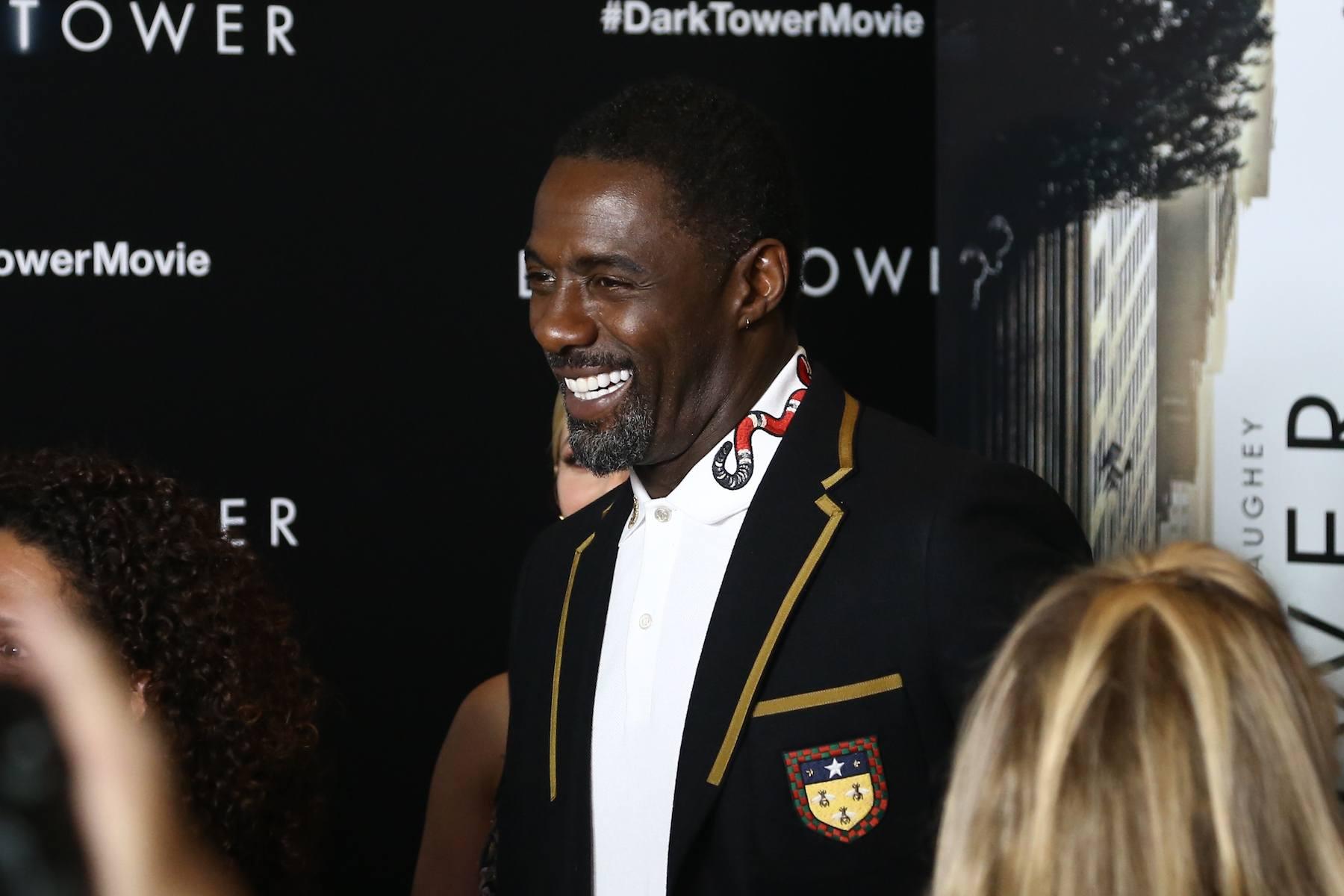 Idris Elba model rambut buzz cut