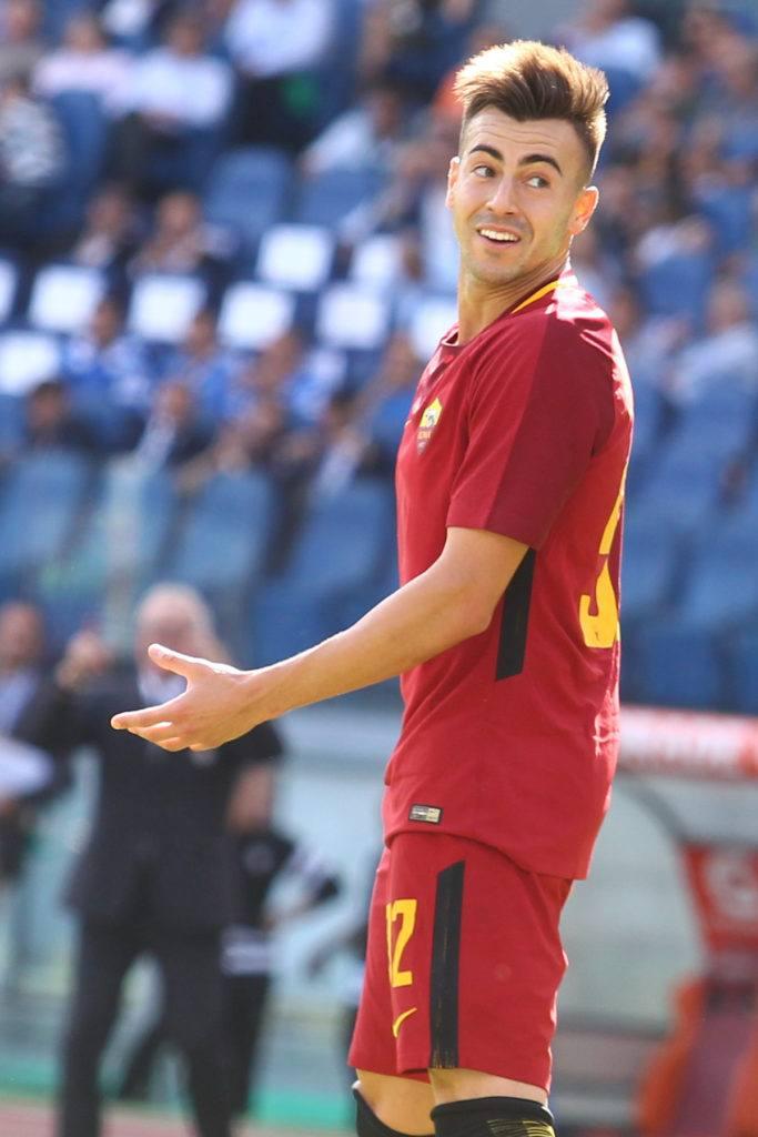 Stephan El Shaarawy gaya rambut pemain sepak bola