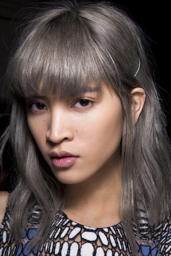 14 Warna rambut abu-abu yang edgy   kekinian  af46b8e923