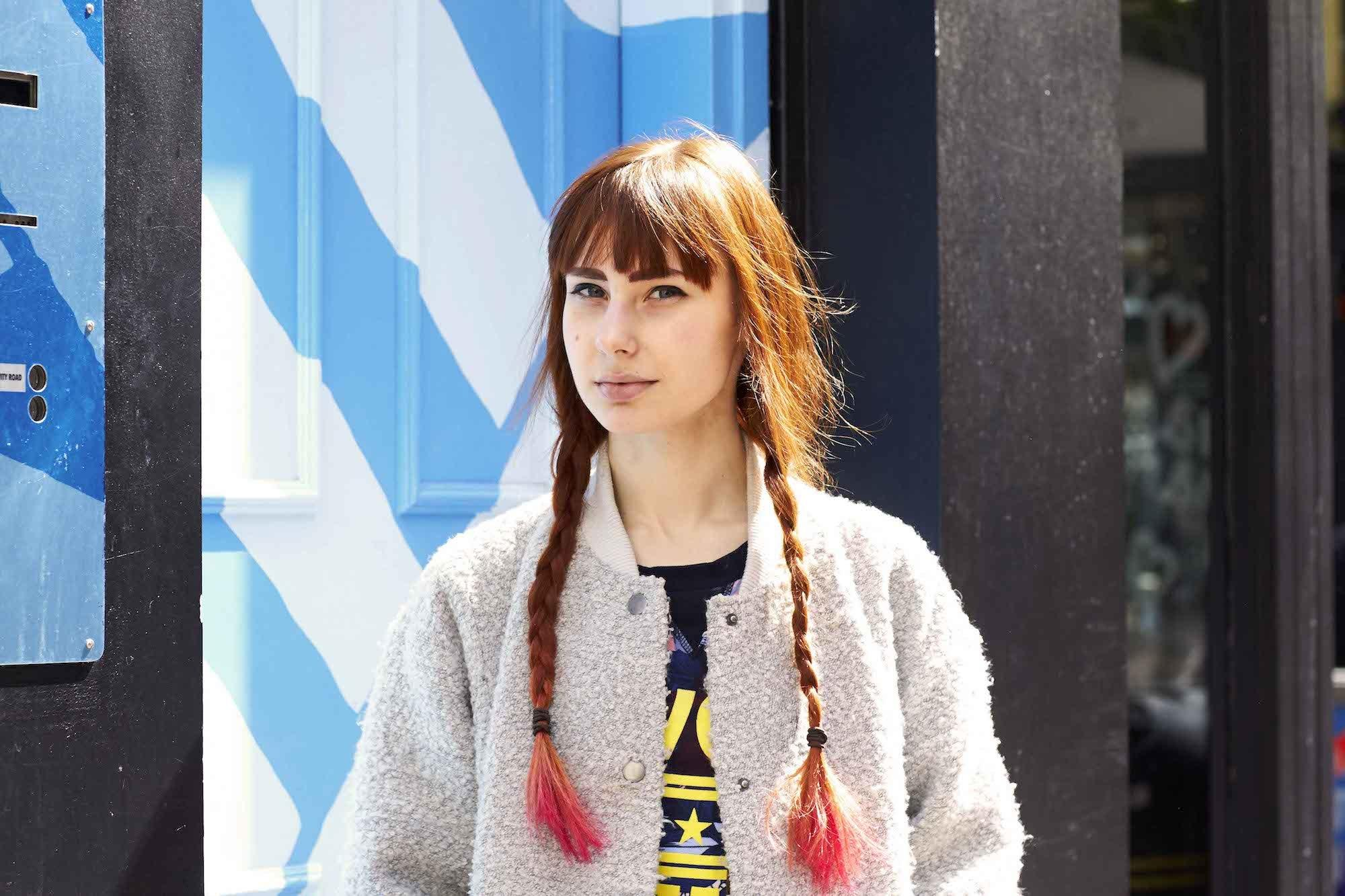 Model rambut double classic braid