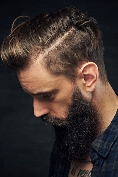 6 model rambut pria terbaru 2018 side parting