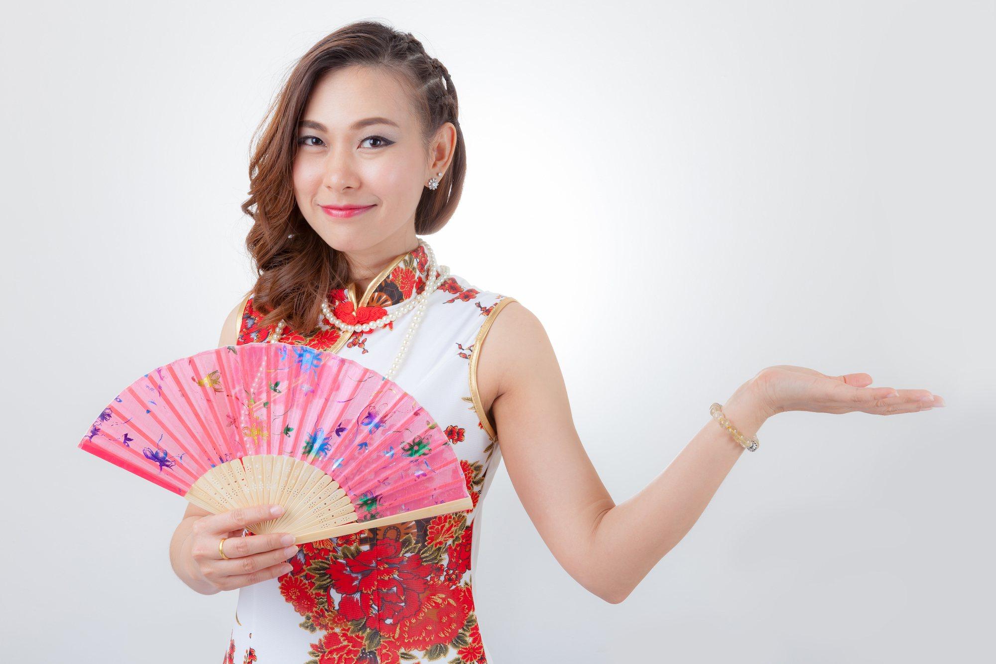 Gaya rambut Imlek Tahun Baru Cina 2018 - side braid.