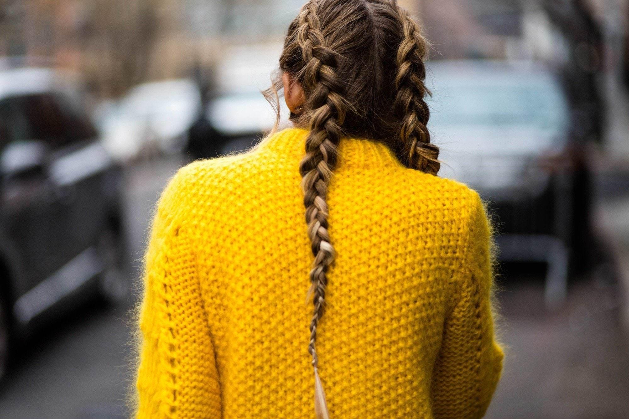 trend gaya boxer braid di London fashion week 2018