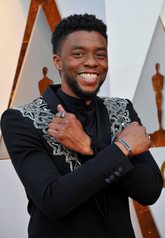 Chadwick Boseman oscar 2018.