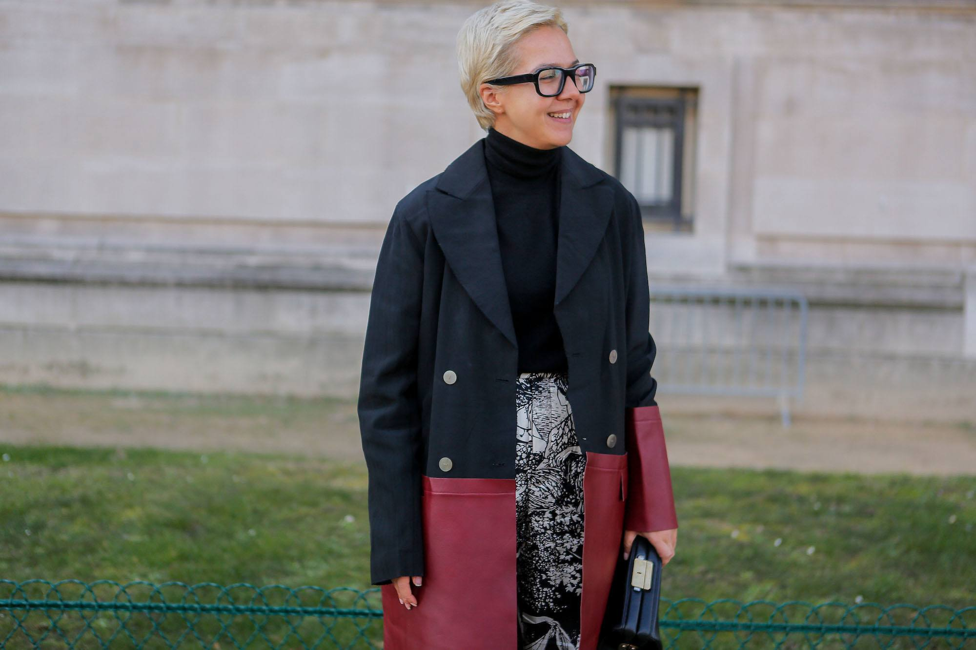 Pixie pirang StreetDay5 Paris Fashion Week 2018.