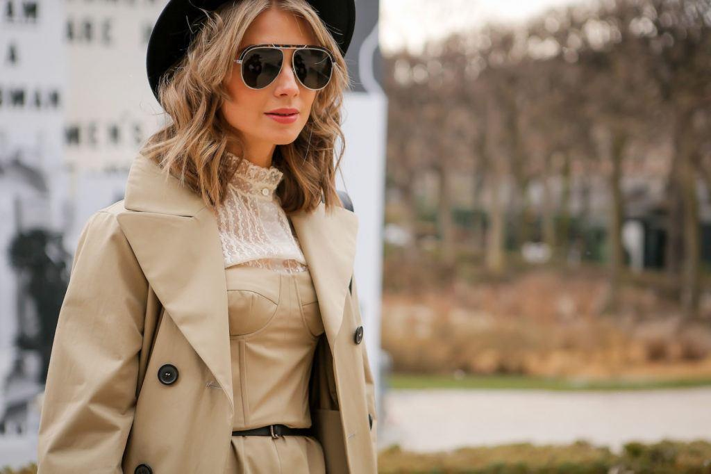 Wavy bob StreetDay1 Paris Fashion Week 2018.