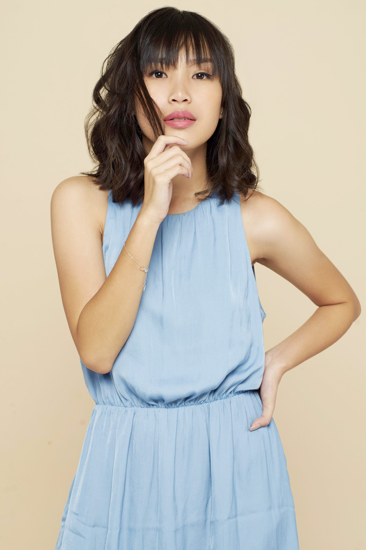 Model Rambut Keriting Pendek Wanita Gemuk