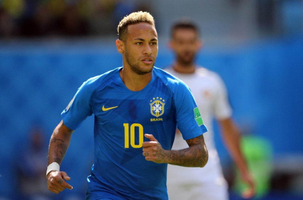 Bleached hair Neymar gaya rambut pemain timnas World Cup 2018.