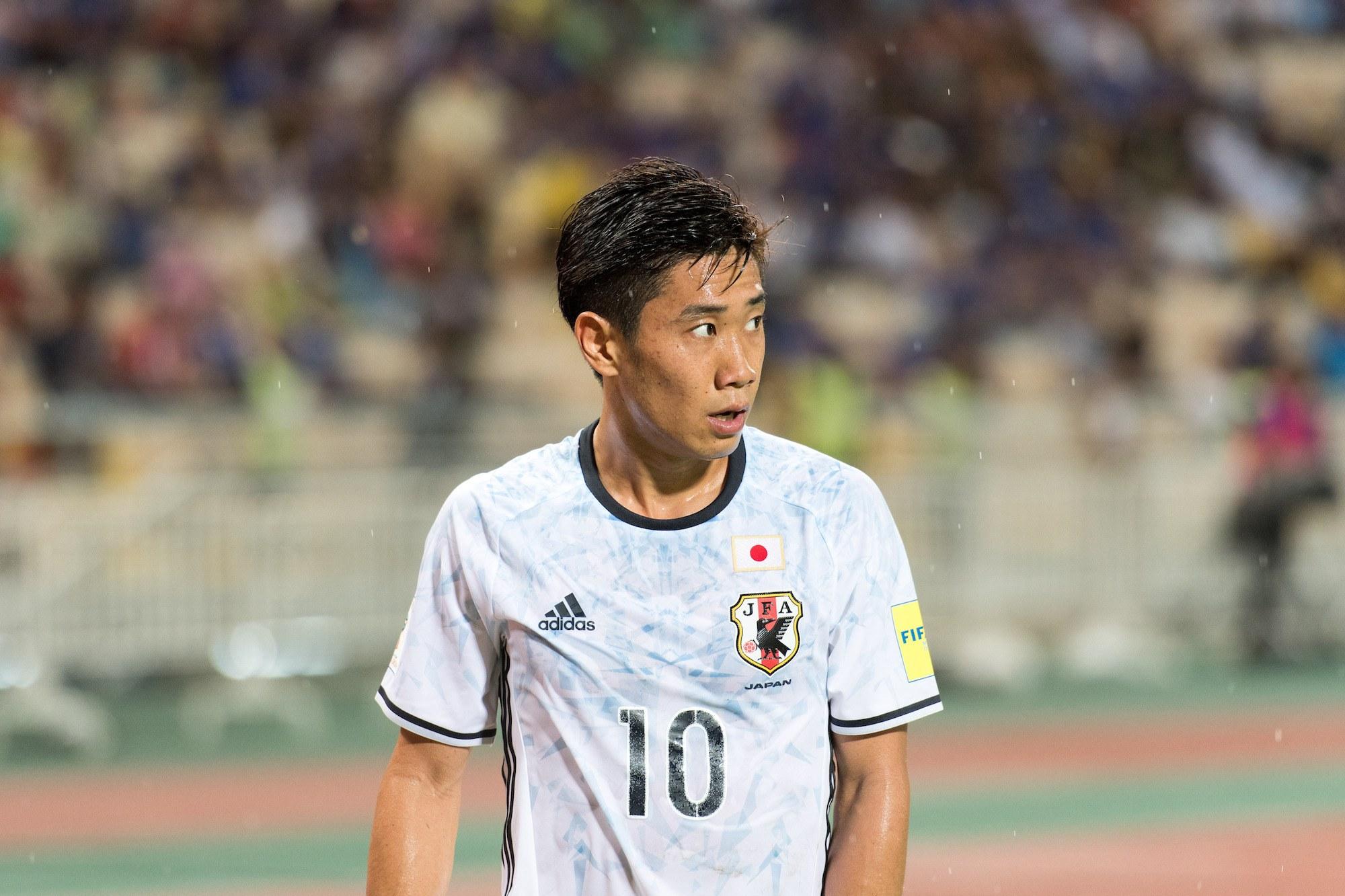 Shinji Kagawa classic textured pemain timnas World Cup 2018.