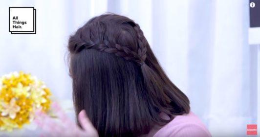 Romantic double braid