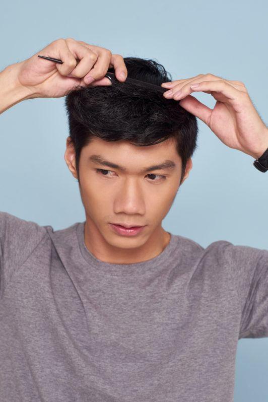 Model Rambut Cowok Quiff