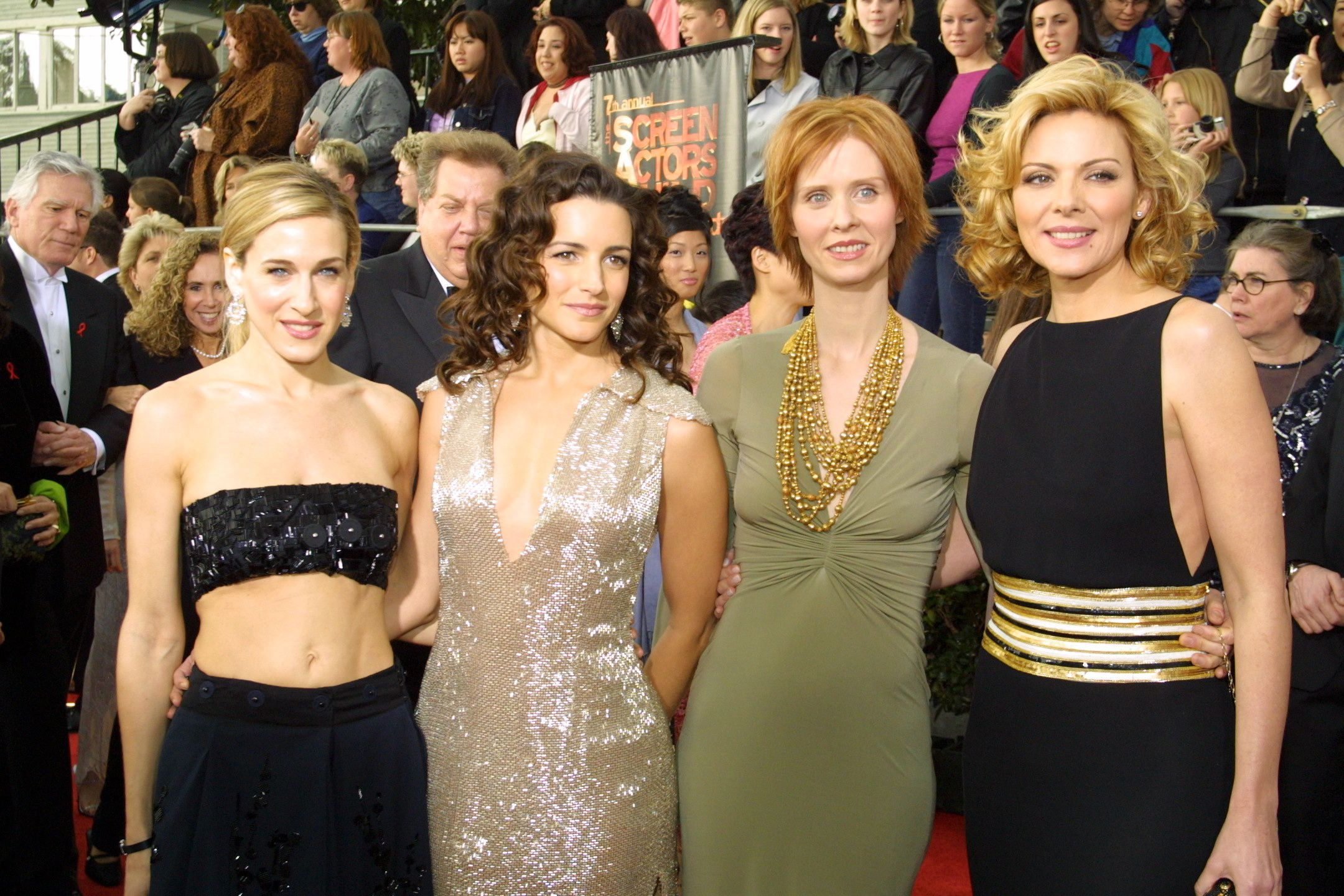 Las cuatro protagonistas de Sex and the city unos años después del final de la serie