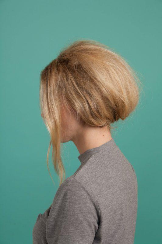cabelo Brigitte Bardot 3 passo