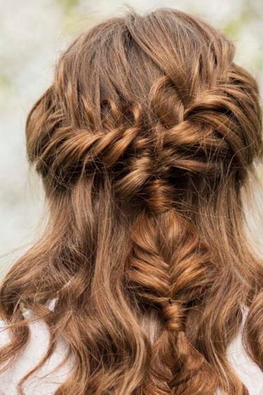 modelo de Outono-inverno 2016 - bronde hair