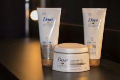 foto testamos Linha Dove Advanced Hair Series Pure Care Dry Oil