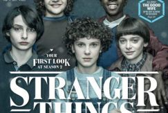 Capa da revista Entertainment Weekly com o novo cabelo da Eleven
