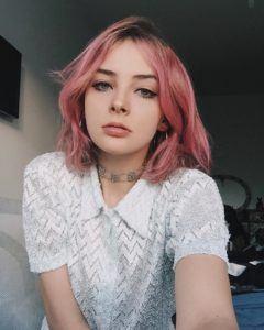 Cabelo rosa no Instagram