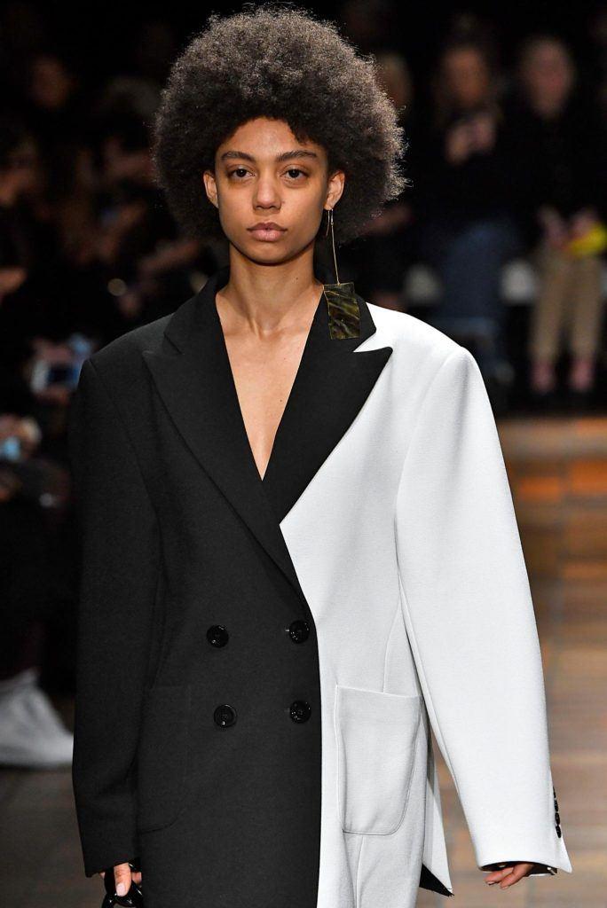 Cabelos da semana de moda de Londres