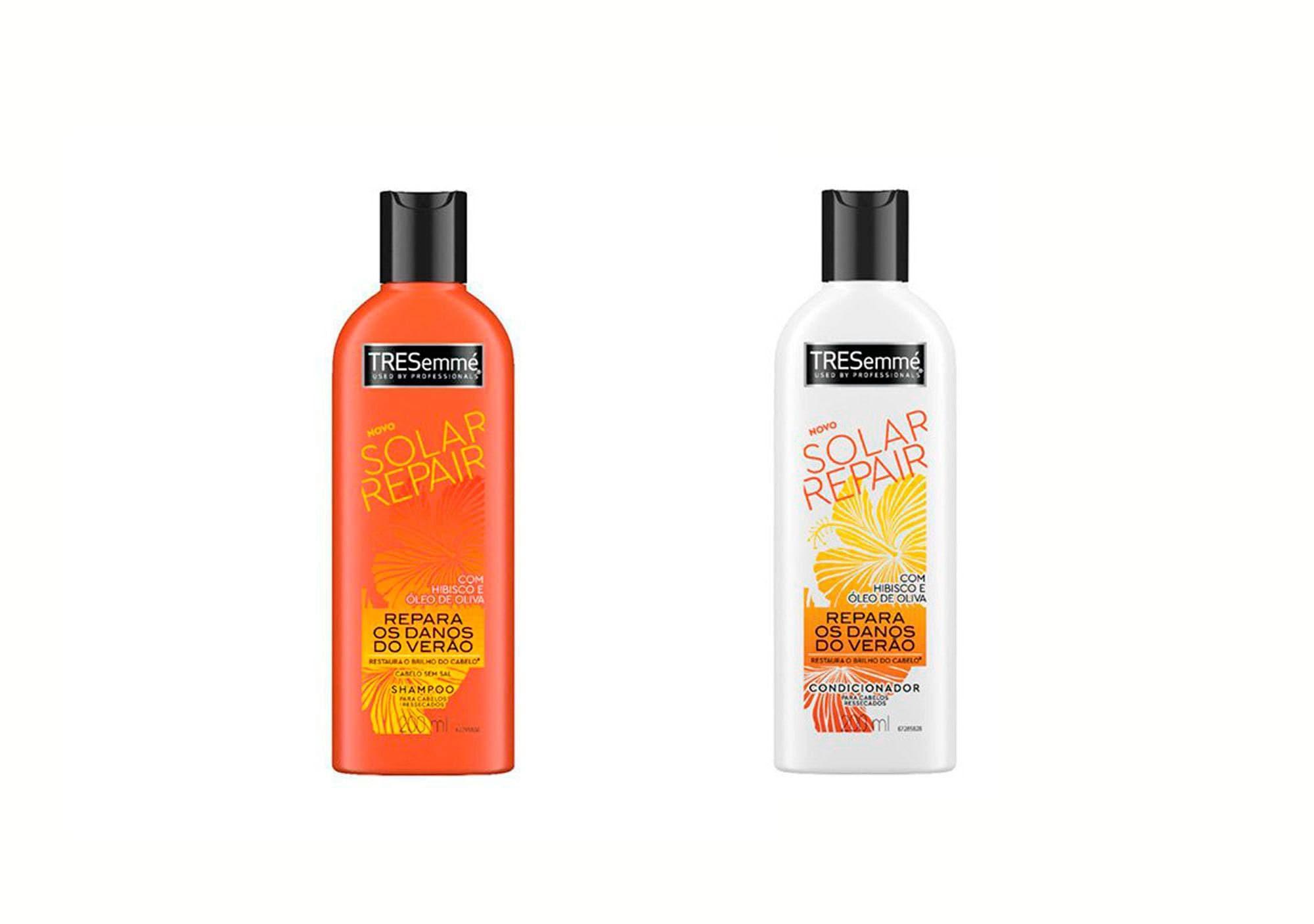 Shampoo e Condicionador Tresemmé Solar Repair