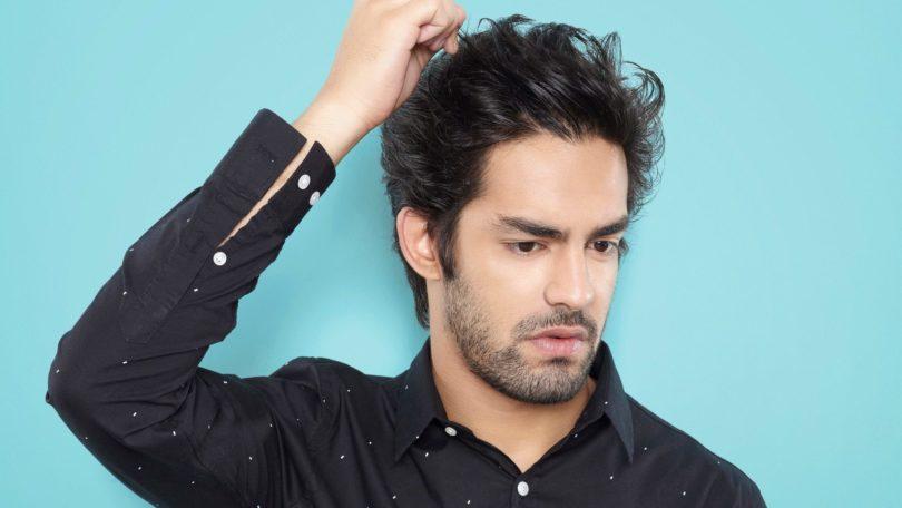 messy hair masculino