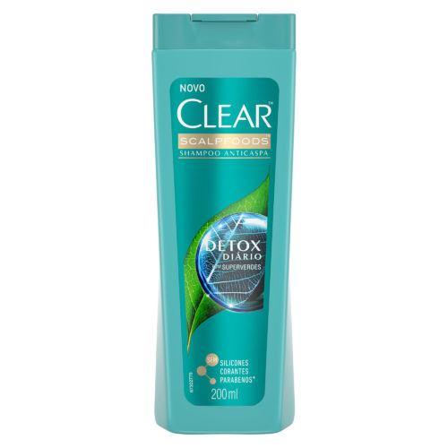 Shampoo Clear Women Anticaspa Detox Diário