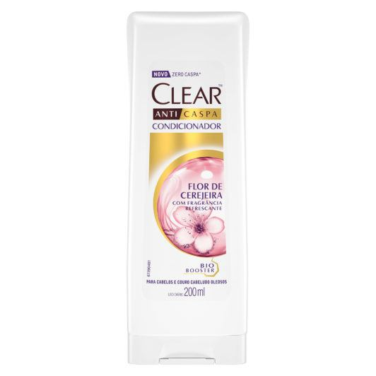 Condicionador Anticaspa Clear Women  Flor de Cerejeira