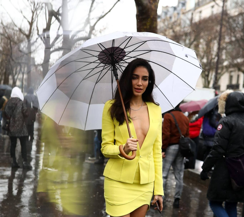 manter o cabelo intacto na chuva