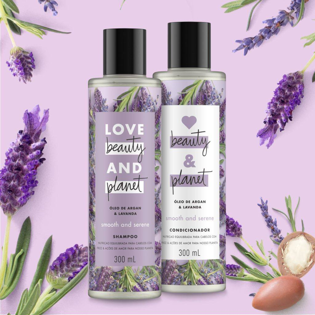 Linha Smooth and Serene de Love Beauty and Planet