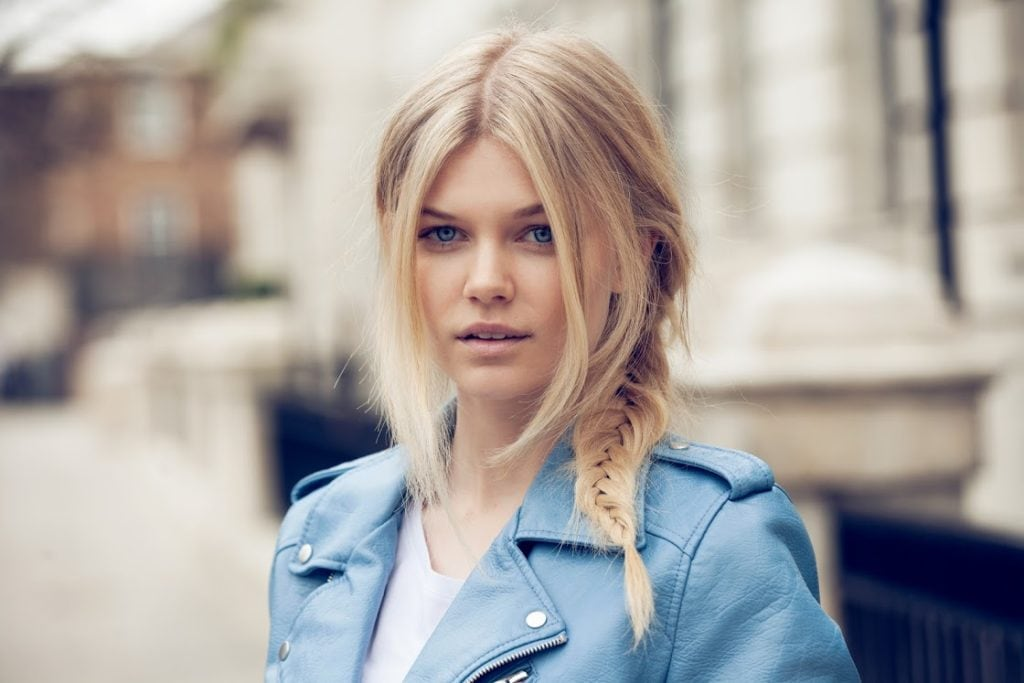 best long hairstyles fishtail braid