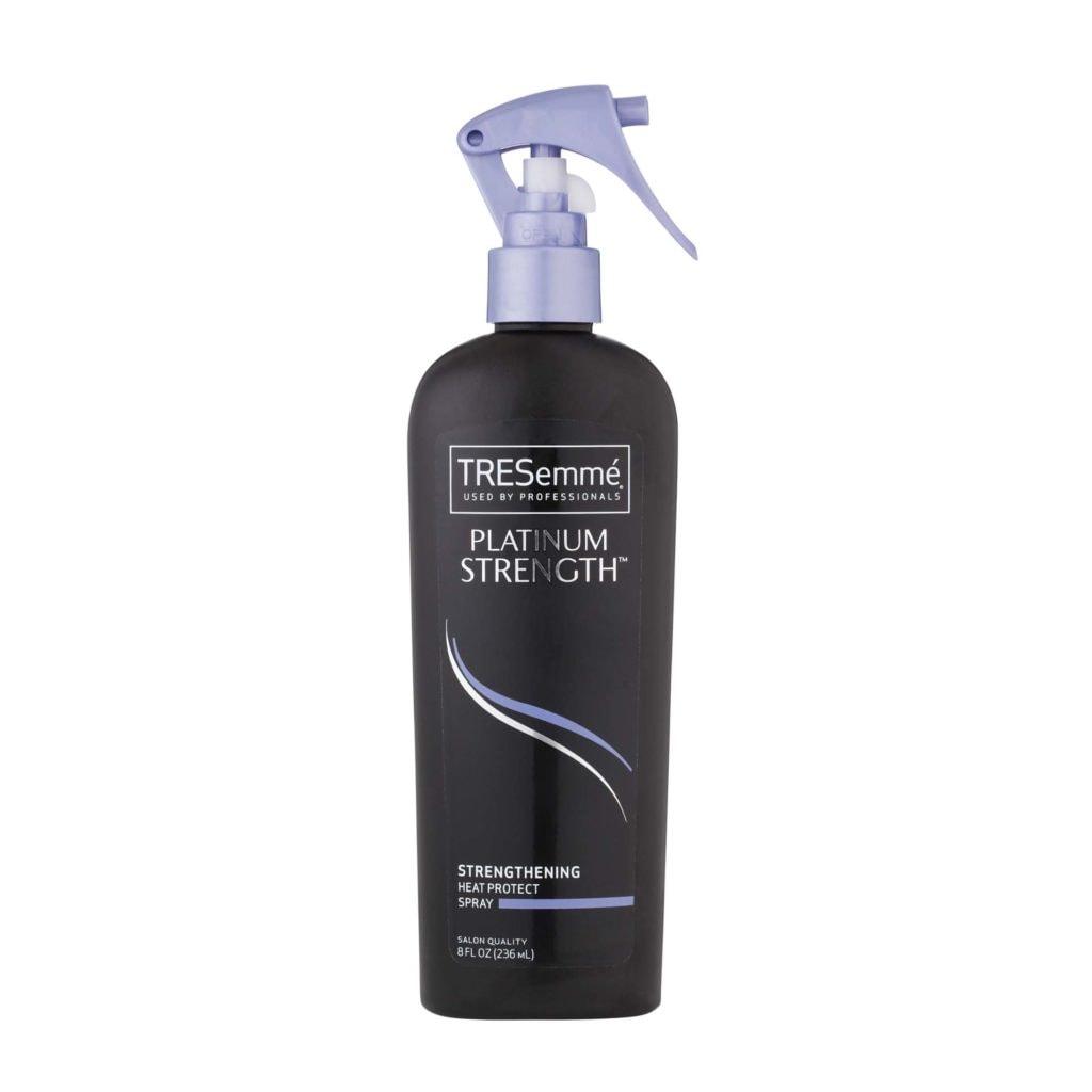 summer hair products TRESemmé Platinum Strength Strengthening Heat Protectant Spray