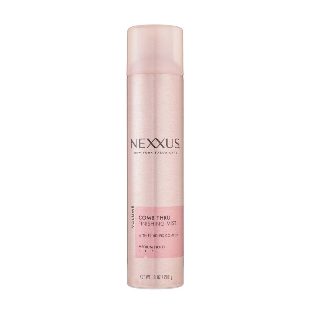 hairspray Nexxus comb thru finishing mist
