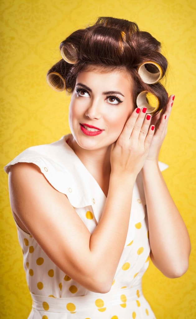 hair rollers for chic styles