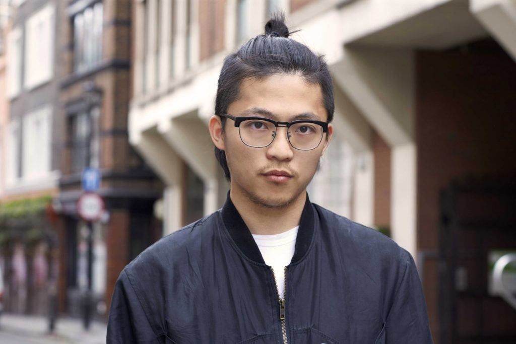 asian men hairstyles man bun