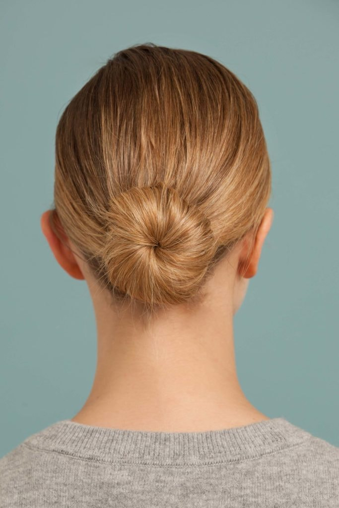 hairstyles for women ballerina bun