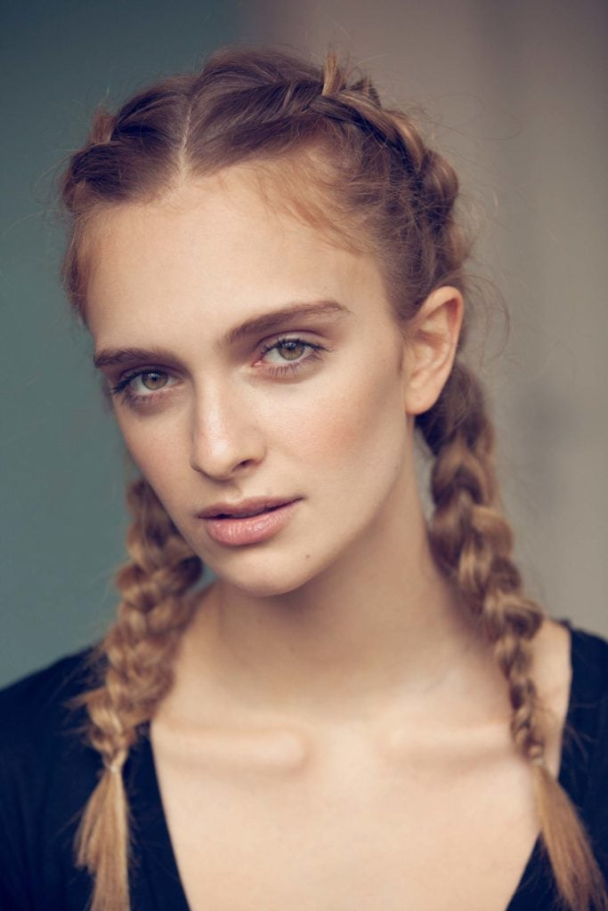 how to dutch braid hair into pigtails