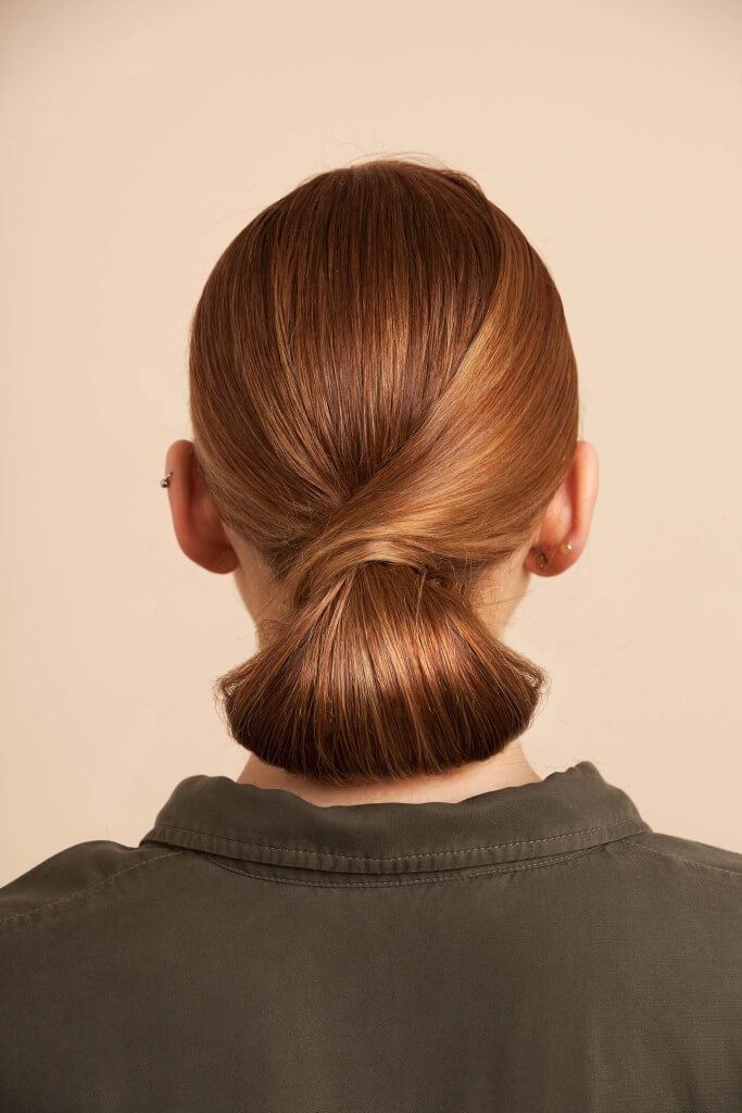 evening hairstyles Chignon