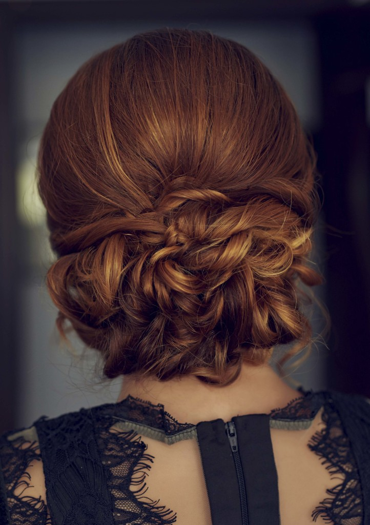 up styles for thick hair thick hair hairstyles 7 updos to try 6938