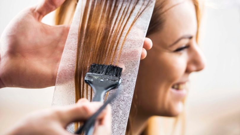 is it safe to dye hair when pregnant