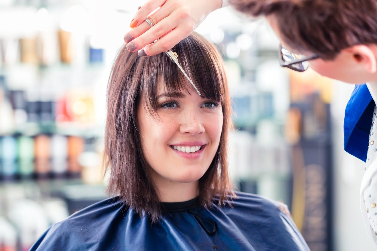 grow out your bangs trim