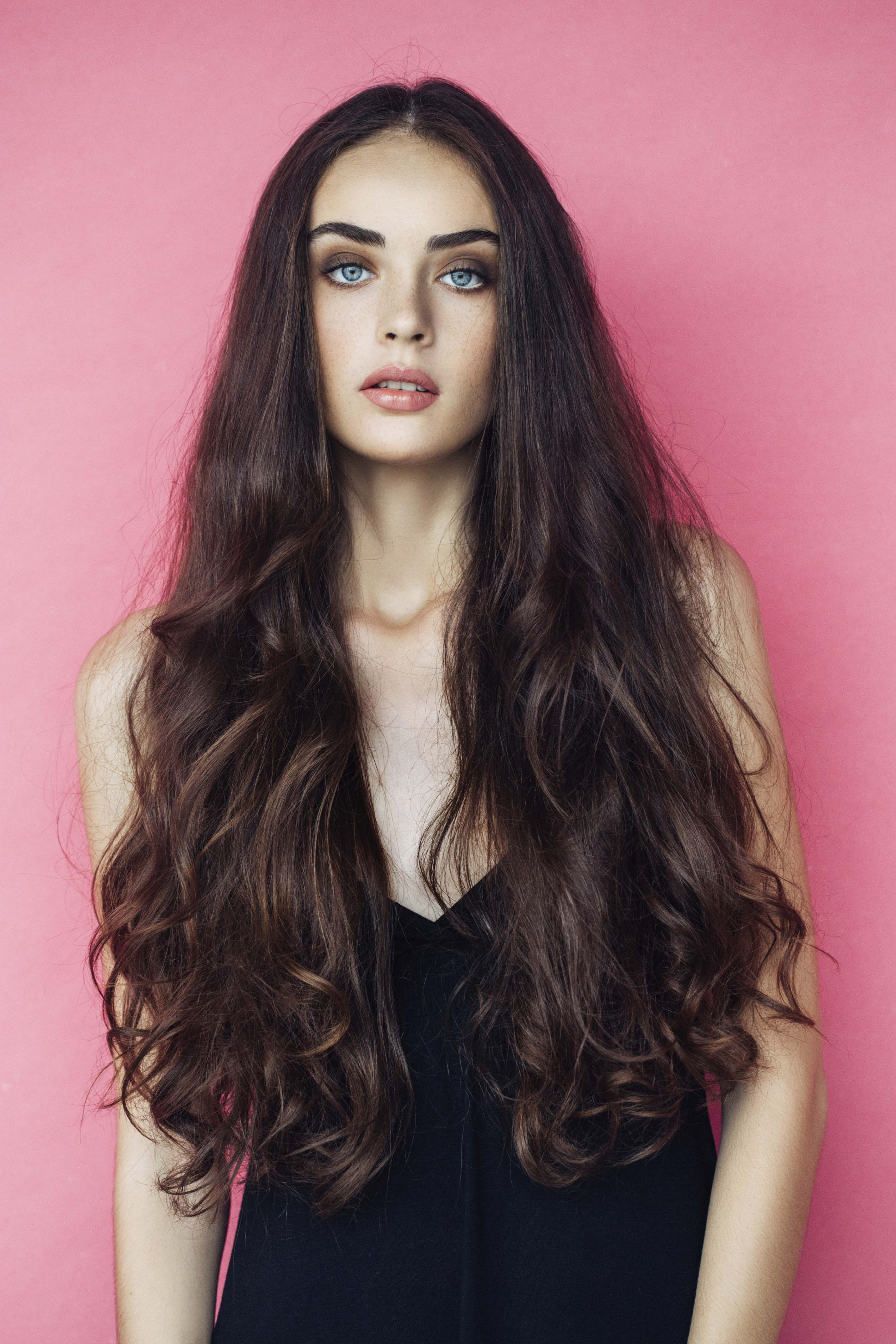 make hair grow longer long brown hair