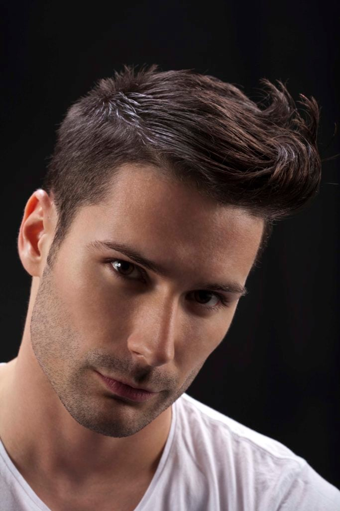 men's hairstyles quiff
