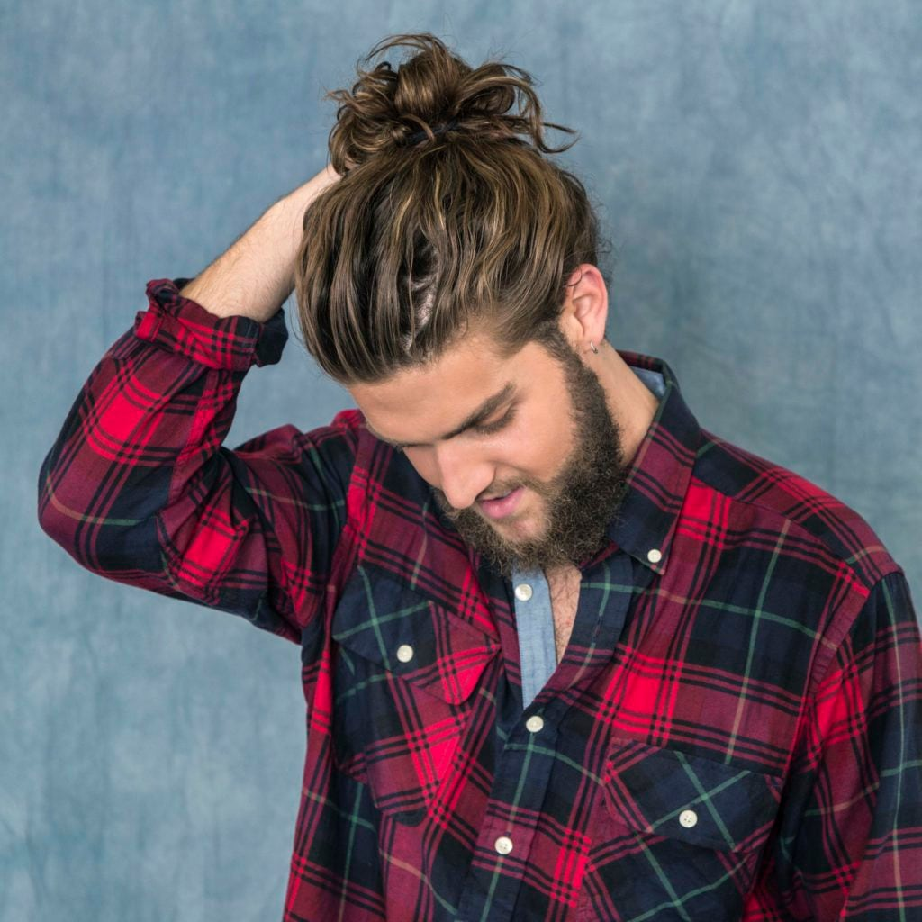 new hairstyles for men Modern Man Bun