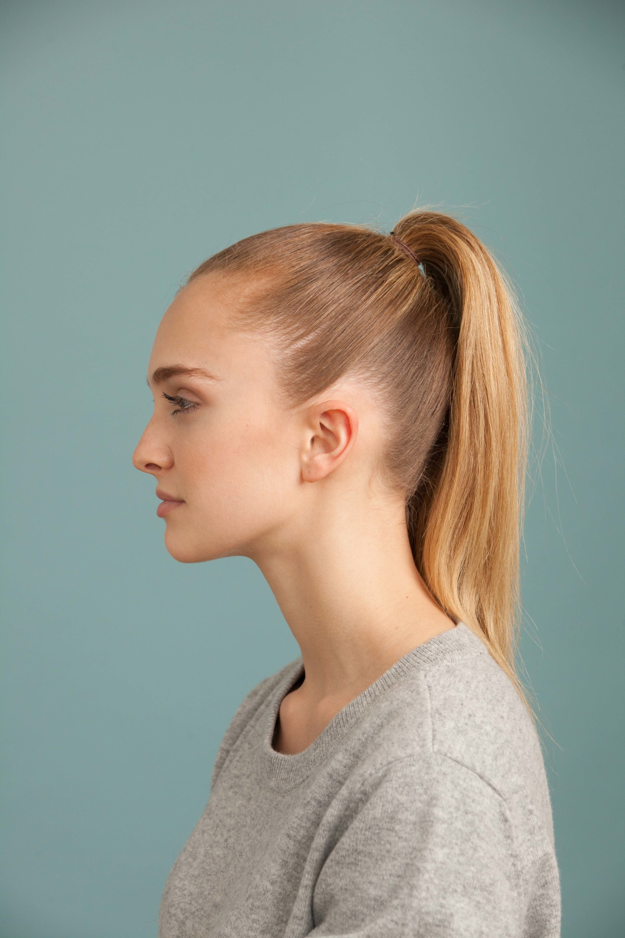 tie hair styles ponytail styles how to create the look 6656