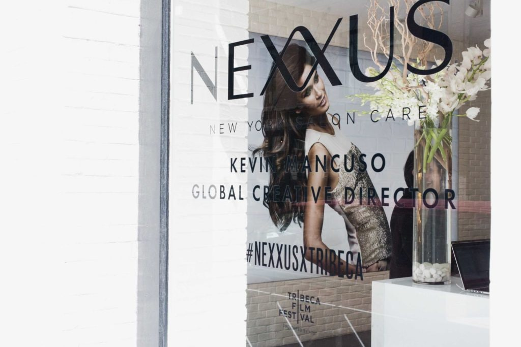 Nexxus salon in NYC