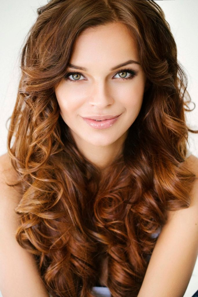 light brown hair color reddish brown