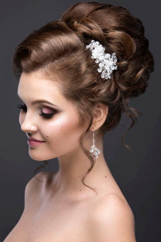best prom hairstyles jeweled accessory