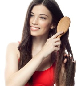 hair damage can be caused by excessive brushing
